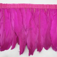 Feather Trimmings Fuchsia