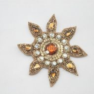 Indian Sun Motif Bronze