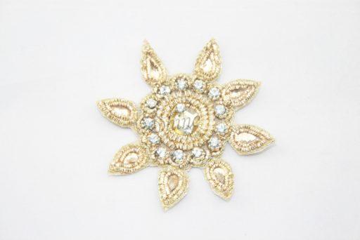 Indian Sun Motif Gold
