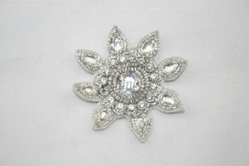 Indian Sun Motif Silver