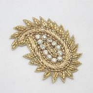 Indian Paisley Motif Gold