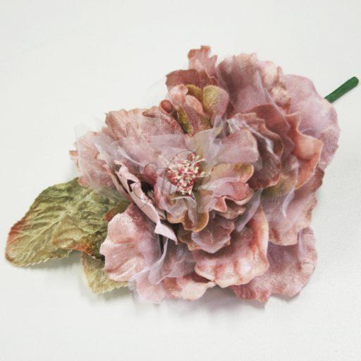Cabbage Rose Black