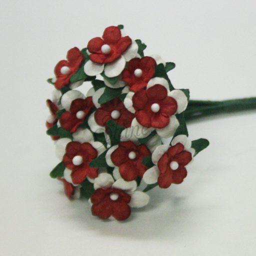 Mini Paper Daisy Bunch Red
