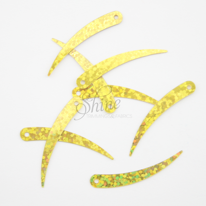 Sequin Spear Yellow Gold Sparkle (50g)