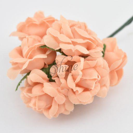Bunch of Medium Roses Apricot