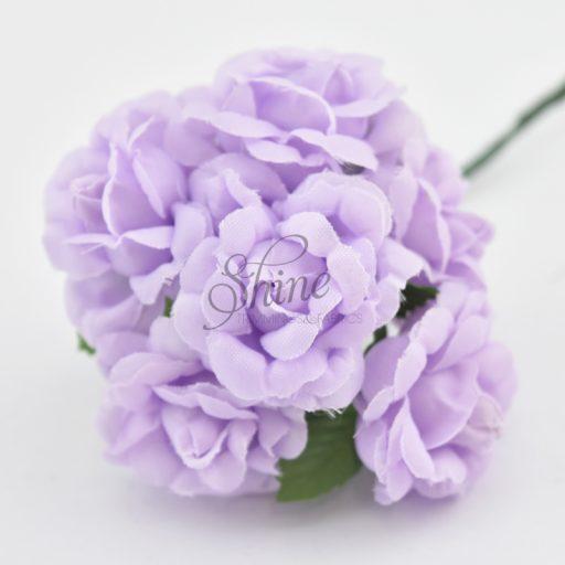 Bunch of Medium Roses Lilac