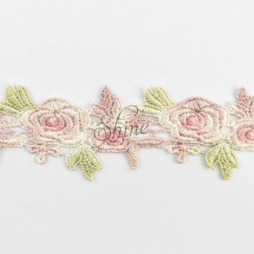 Rose Lace Dusty Pink/Sage