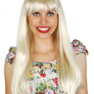 Jessica Long Wig with Fringe Blonde