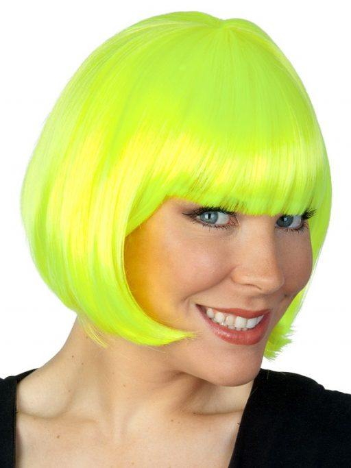Paige Wig Neon Yellow