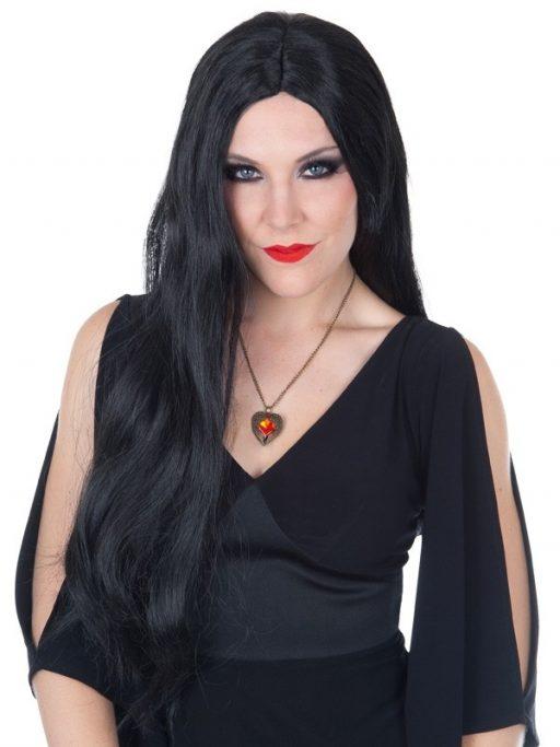 Morticia Wig
