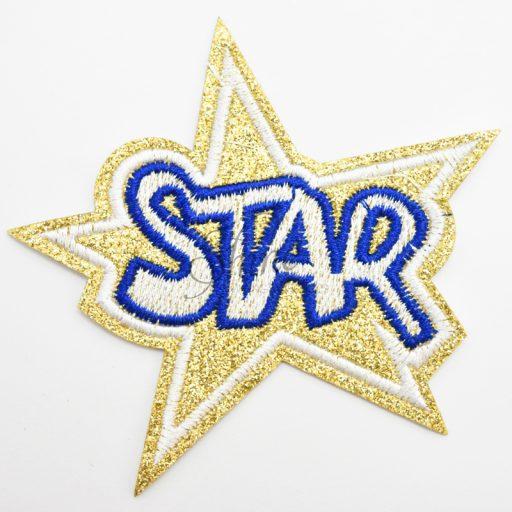Star Iron On Motif