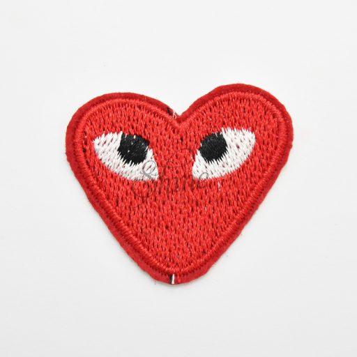 Heart Iron On Motif