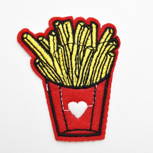 For The Love of Fries Iron On Motif