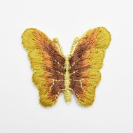 Butterfly w/Gold Lurex Yellow