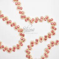Spellbound Pink Diamante Trimming