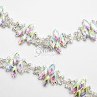 Glass Deco Crystal Diamante Trimming