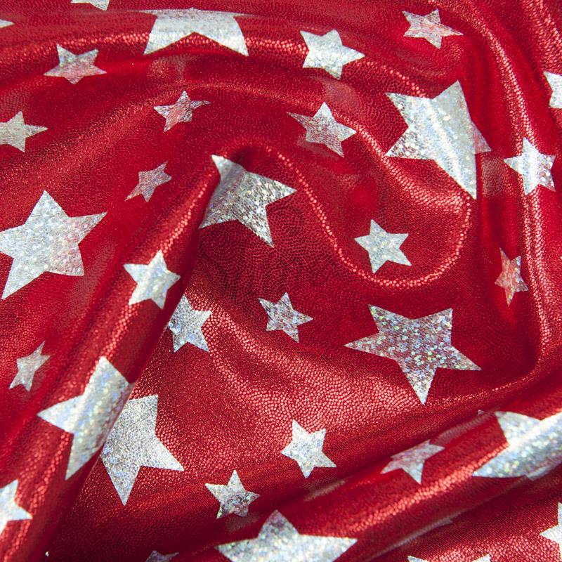 Superhero Stars stretch spandex