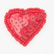 Heart Sequin Motifs
