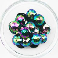 Plastic Oil Slick Sew On Stones