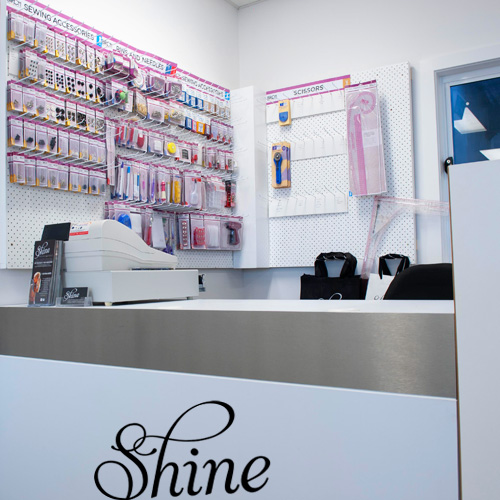 Shine Learning Studio - Haberdasheries/reception desk