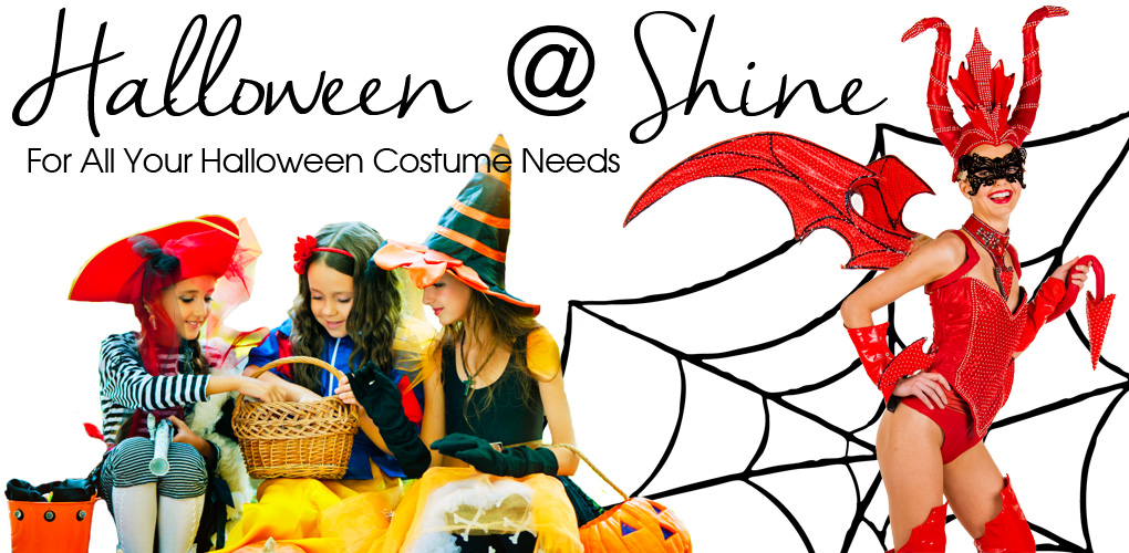 SHine has all the Halloween supplies you need for the perfect costume
