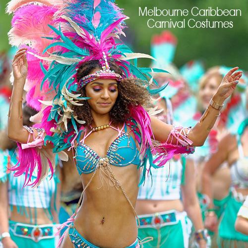 Melbourne Caribbean Carnival Costumes