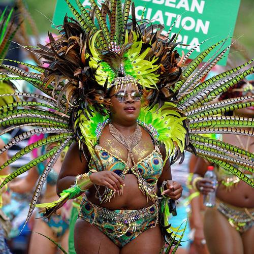 Melbourne Caribbean Carnival Dancer