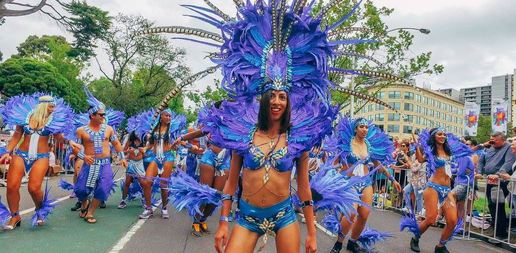 Melbourne Caribbean Carnival Costumes - Moomba Parade 2019