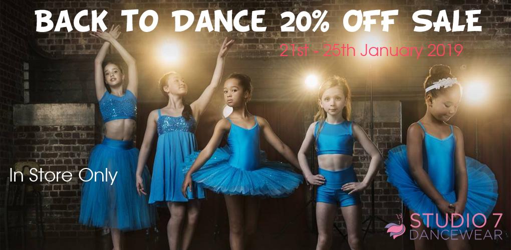 Back to dance 20% off Shine sale