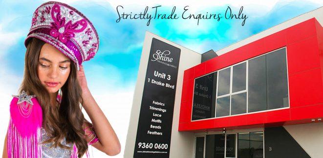 Shine Trimmings & Fabrics - Wholesale