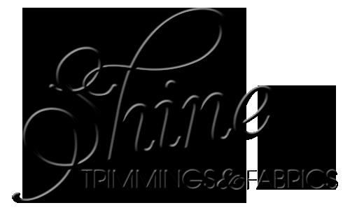 Shine Trimmings brand Fabrics logo