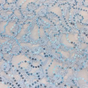 Sequin Stretch Lace